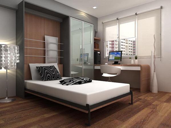 Шкаф-кровать в интерьере