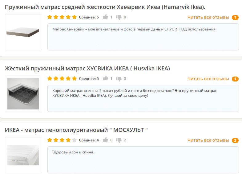 Купить матрас 130х200 недорого