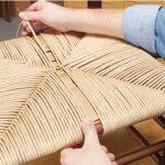 Реставрация стульев с плетением из ротанга