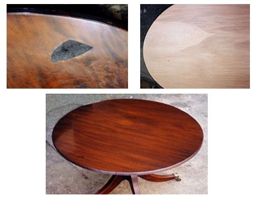 Реставрируем деревянный стол