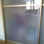 Замена зеркального листа шкафа-купе