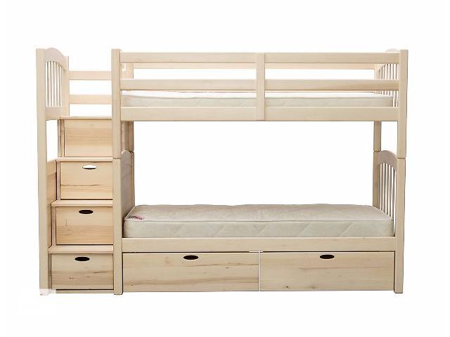 Двухъярусная кровать-трансформер с лестницей
