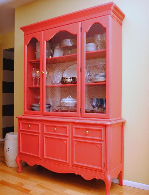 Отреставрированный шкаф