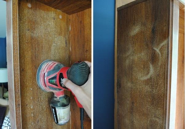 Снятие лакокрасочного покрытия