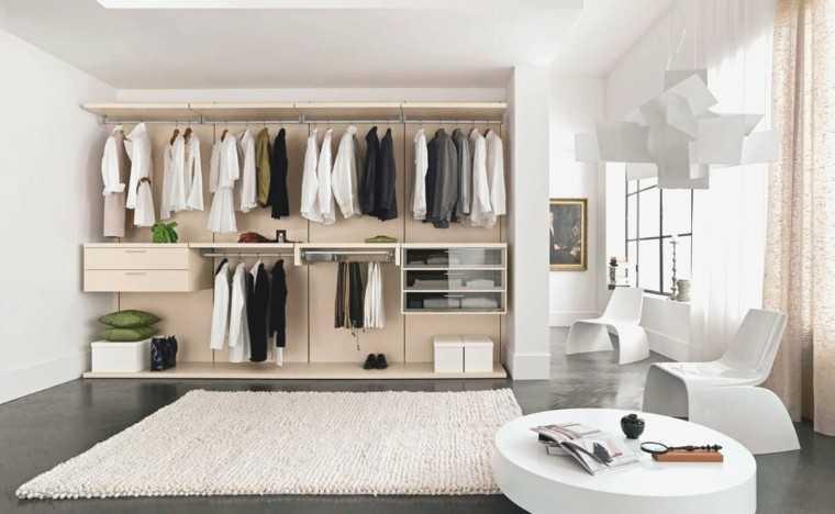 Открытый гардероб Ikea