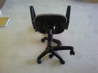 Сломанная крестовина кресла