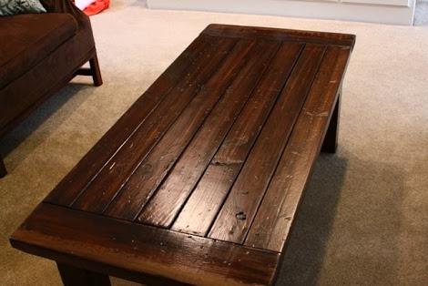 Деревянный столик своими руками