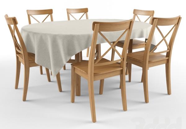 Барные стулья ИКЕА Ингольф