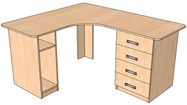 Угловой стол для компьютера